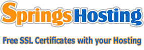 Springs Hosting- Free SSL Certificates