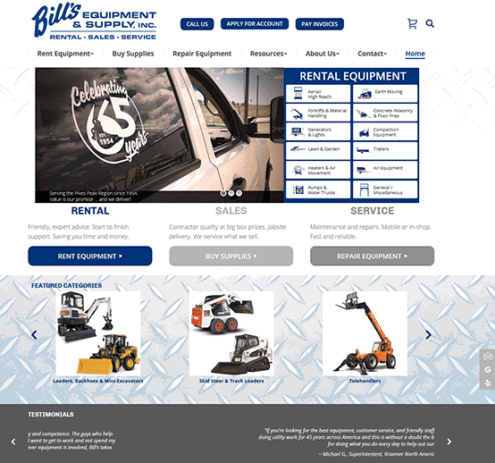 Bill's Equipment & Supply, Inc.