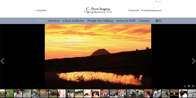 C. Snow Imagery Home Page
