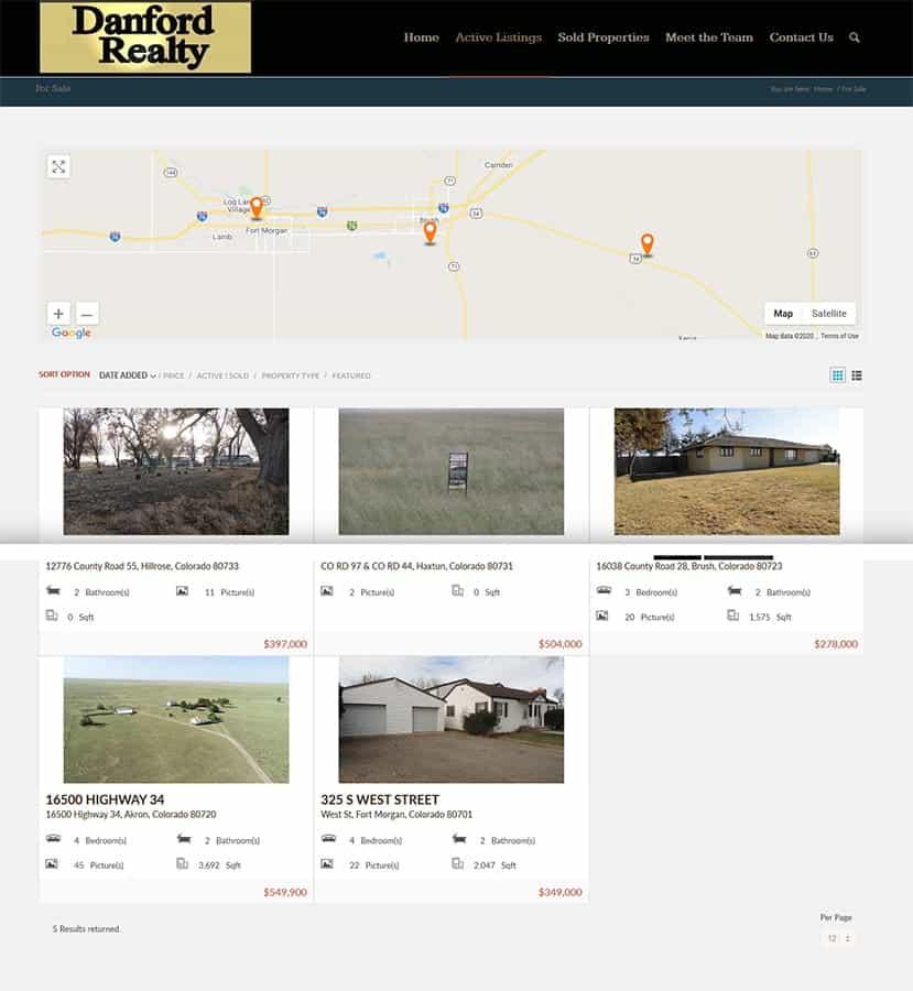 Danford Realty LLC Listings