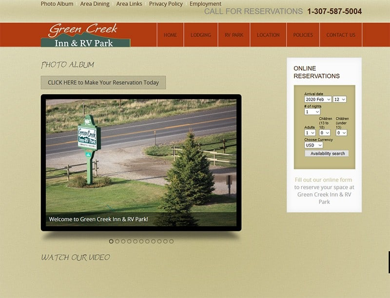 Green Creek Inn & RV Park Video