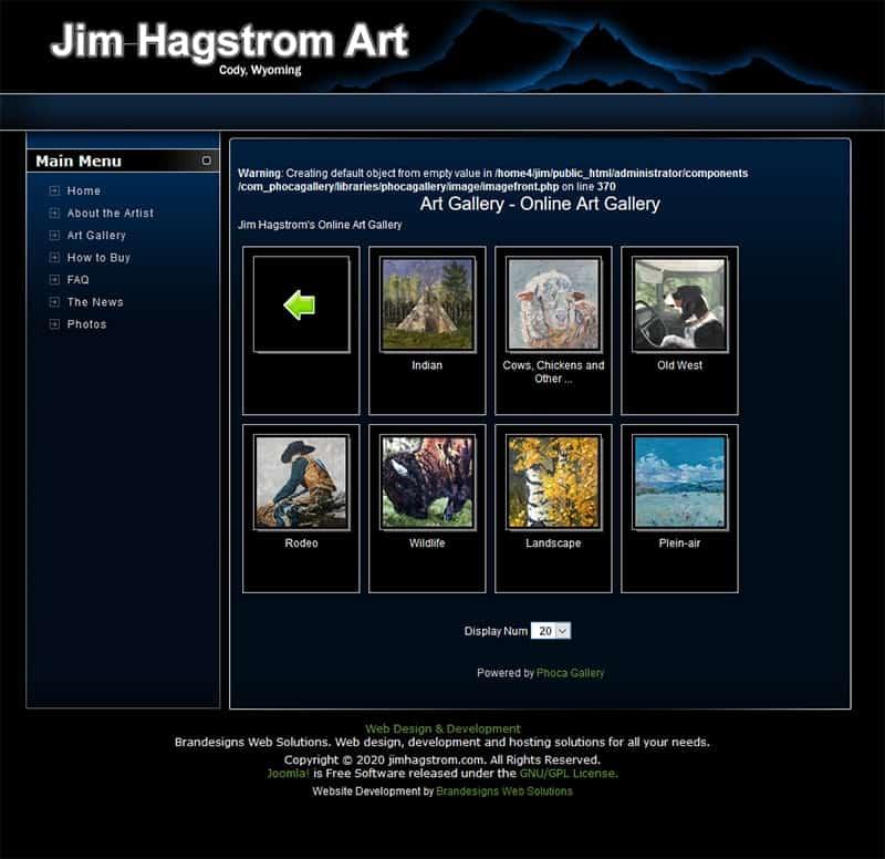 Jim Hagstrom Gallery Page