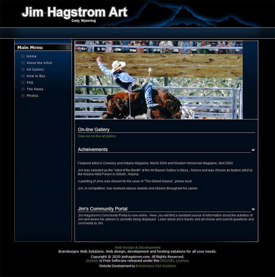 Jim Hagstrom Art Homepage