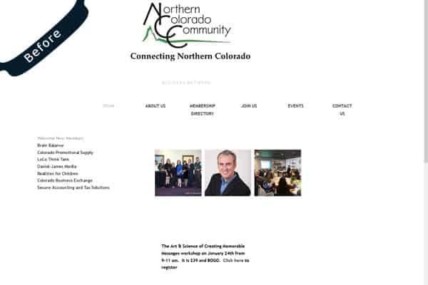 Northern Colorado Community - Previous Website
