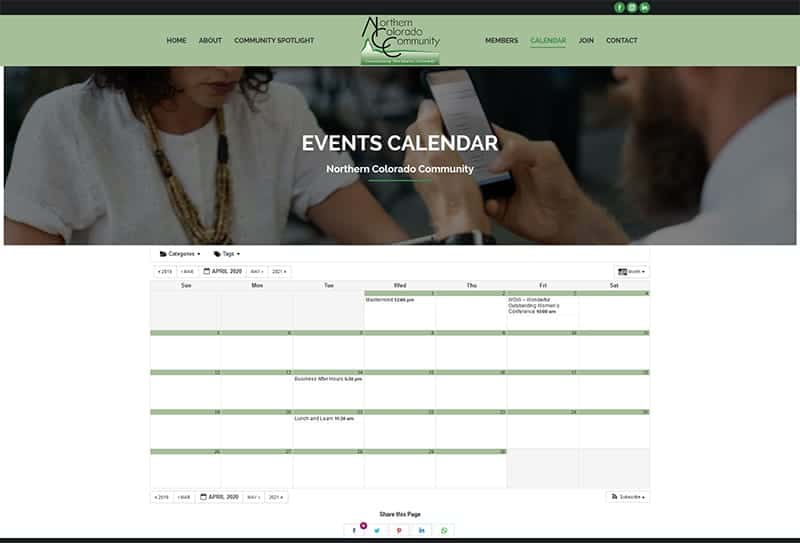 Northern Colorado Community Event Calendar