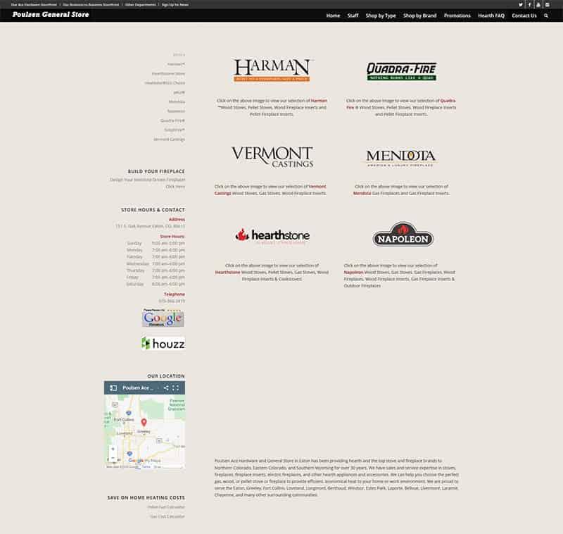 Poulsen Ace Hardware - Category by Brand