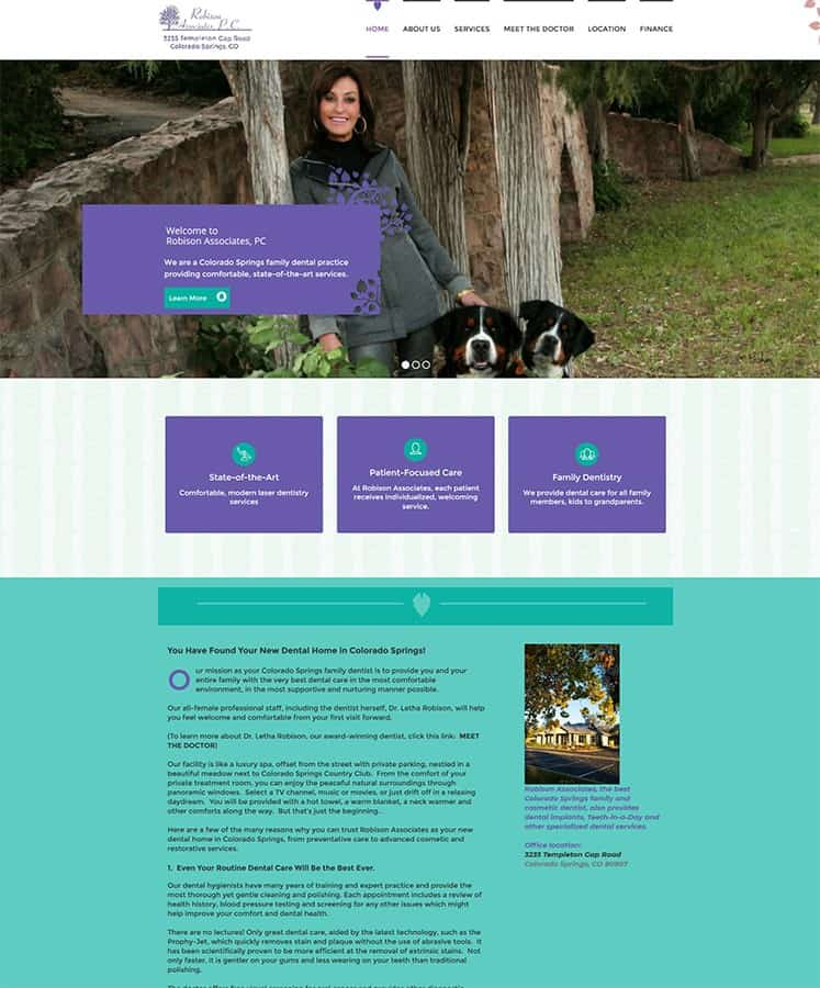 Robison Dental Home Page