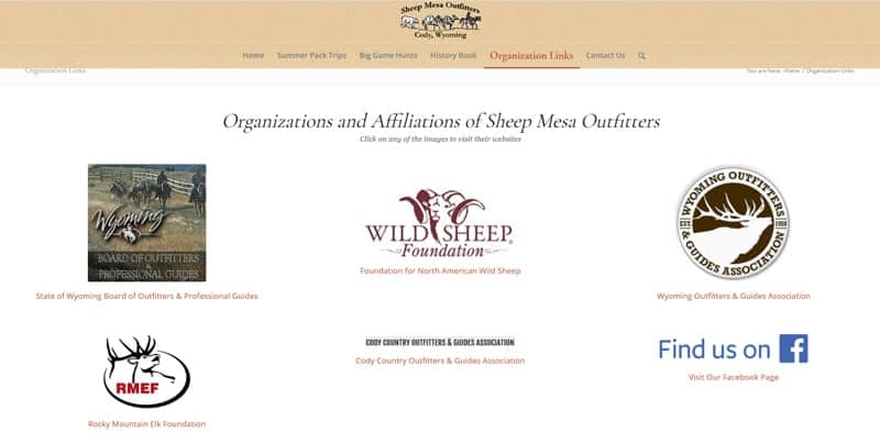 Sheep Mesa Outfitters Affiliates & Organizations